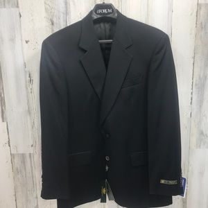 Principe by Marzitto Black Blazer Jacket